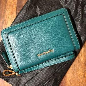 Vera Bradley Leather Wristlet